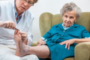 Home Care Services in Sun Lakes AZ: Foot Care